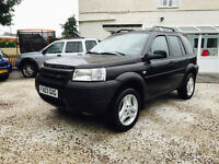 LHD LAND ROVER FREELANDER PREMIUM 2003 AUTO ONLY 86K LEFT HAND DRIVE