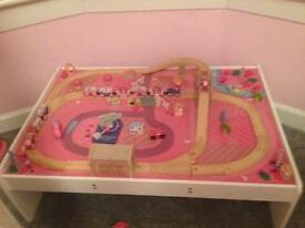 Big jig pink train set