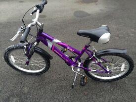 Girls bike age 5-7