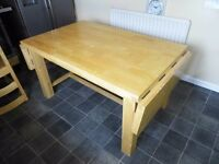 FINAL REDUCTION*PRICE DROP* Large Solid Wood Dinning Table.