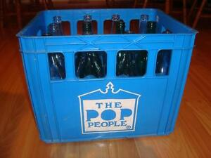 "Full Case Soda Bottles ""The Pop People"" from Oshawa ON - RARE !! Kitchener / Waterloo Kitchener Area image 6"