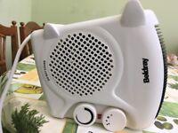 Beldray 2kw fan heater VGC