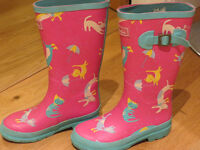 Girls Joules wellies - Size 2