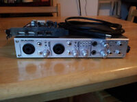 M-AUDIO FIREWIRE 410 AUDIO INTERFACE PLUS USB/FIREWIRE PCI CARD