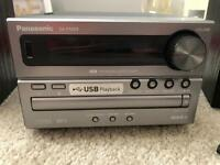 Panasonic CD/USB/RADIO remote control micro stereo