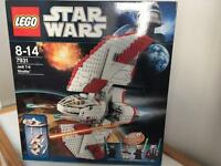 Star Wars Lego Set Jedi T-6 Shuttle 8-14yrs