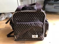 REDUCED- Maternity Backpack Bag with loads of storage and clever features
