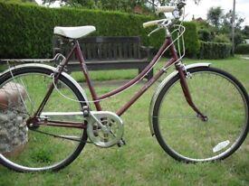 56cm (Large) Vintage British Single Speed Ladies Bike in Perfect Order