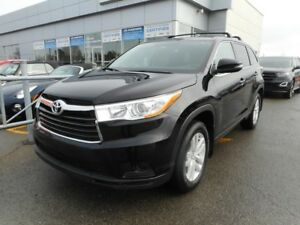 2016 Toyota HIGHLANDER LE AWD CAMERA DE RECULE/BLUETOOTH/8 PLACE