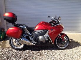 Superb VFR1200F with all the extras