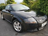 AUDI TT 1.8 TURBO 180BHP! HEATED LEATHER! LIKE Z3 CC BOXSTER A3 Z4 MX5 MINI 500 GOLF ASTRA FOCUS
