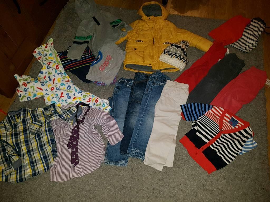 boys age 3-4 clothes bundle