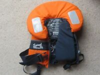 Spiral 100N Lifejacket for a baby up to 20kg. As new condition, used only a few times