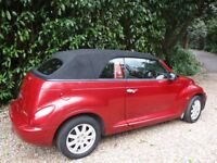 CHRYSLER PT CRUISER CONVERTIBLE RED LOW MILAGE