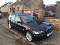 BMW 318 SE TOURING , FULL BMW HISTORY ,64000 MILES, 1 YEAR MOT , IMMACULATE £2495