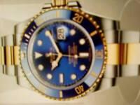 Rolex Submariner (blue face)
