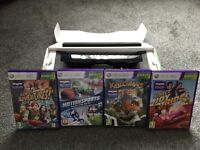 KINECT WITH 4 GAMES