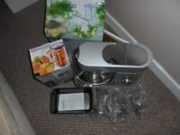 Kenwood Chef Food Mixer with accessories