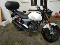 Motorbike Keeway 125 - Almost New/Low Miles