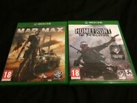 Home front revolution + mad max Xbox one