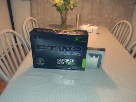 Nvidia GTX 1080 EVGA FTW2 plus free power link