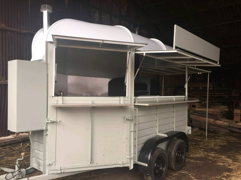 Wood Fired Pizza Trailer