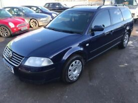 2002 VW PASSAT 2.0 PETROL ESTATE 12 MTHS MOT TOWBAR , PRIVATE PLATE PX WELCOME