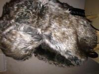 Quality thermal faux fur headwear
