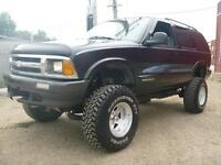 Mini Monster Truck Great Shape 1996 Chevrolet Blazer 4x4 No GST!