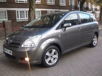 TOYOTA COROLLA VERSO NEW SHAPE 7 SEATER **** £1395 ONLY **** 5 DOOR HATCHBACK MPV
