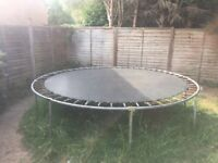 used trampoline (collection only)