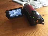 Canon legria fs306 with 16gb card & box