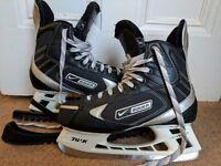 Nike Bauer Lightspeed Hockey Skates Size 9.5