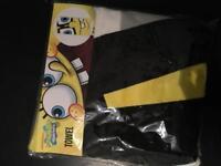 Sponge bob beach towel