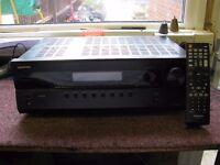 Onkyo Black AV Receiver, With Remote Model HT-R380
