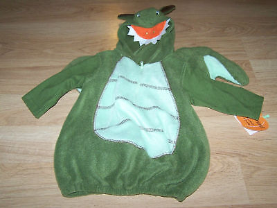 Infant Size 6-9 Months Green Dragon Halloween Costume Baby Grand New (Infant Costumes 6 9 Months)