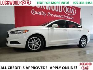 2014 Ford Fusion SE- BLUETOOTH, POWER SEATS, KEYLESS ENTRY