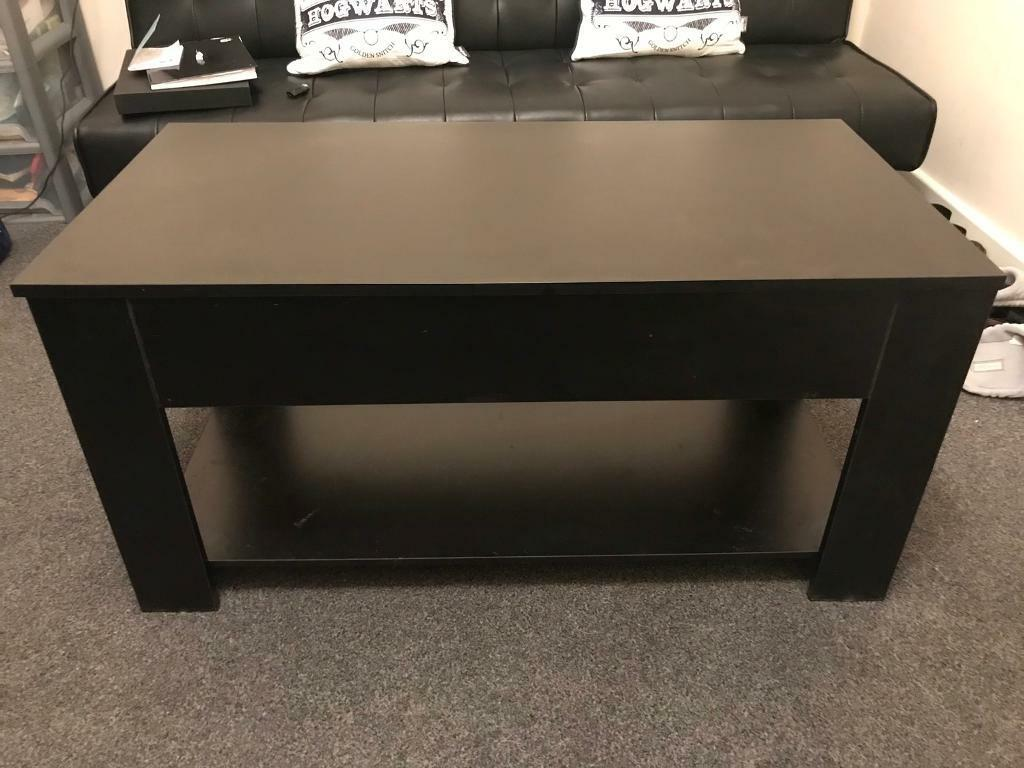 Black Lift Up Coffee Table In Winchester Hampshire Gumtree