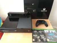 *Boxed* XBOX One (Day One Edition) 500GB with KINECT, Controller & 3 Games (CoD IW, Need for Speed)
