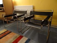 Marcel Breuer 'Wassily' chairs for sale (2 chairs)