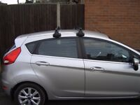 Ford Fiesta, new model roof rack