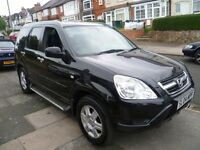 HONDA CRV V-TEC EXECUTIVE, 2004 REG, LONG MOT, LOW MILES, TOP SPEC WITH FULL LEATHER & CLIMATE