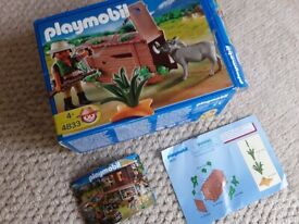Playmobil 4833 - Warthog and Trapper Set