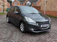 2013 PEUGEOT 208 ACTIVE 1.4 HDI, 12 MONTH MOT SERVICE HISTORY HPI CLEAR LOW MILEAGE, CRUISES CONTROL