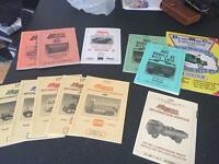 Lledo Die Cast Model Car Books