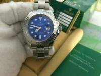 Rolex Yatch Master Blue Dial Stainless Steel