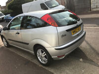 Ford Focus Automatic Silver 3 Door 2002 reg