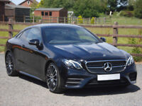 2018 MERCEDES E220d AMG LINE 9G-TRONIC COUPE **NIGHT PACK**