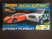 SCALEXTRIC STREET PURSUIT, BOXED