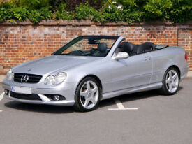 Mercedes CLK 350 7G Tronic AMG Sport Convertible - p/x considered